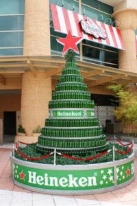 Beer bottle Christmas Tree