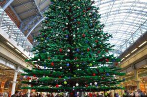 Giant LEGO Christmas Tree