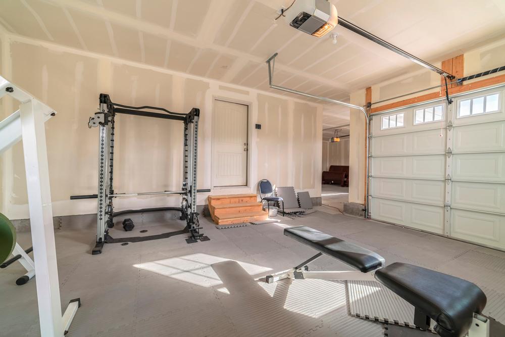 garage gym conversion
