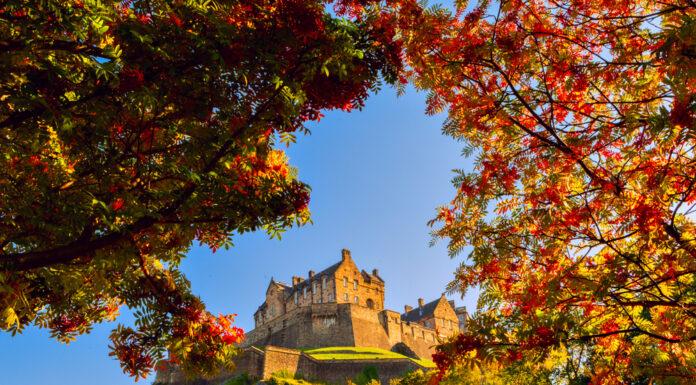 Autumn Edinburgh Castle