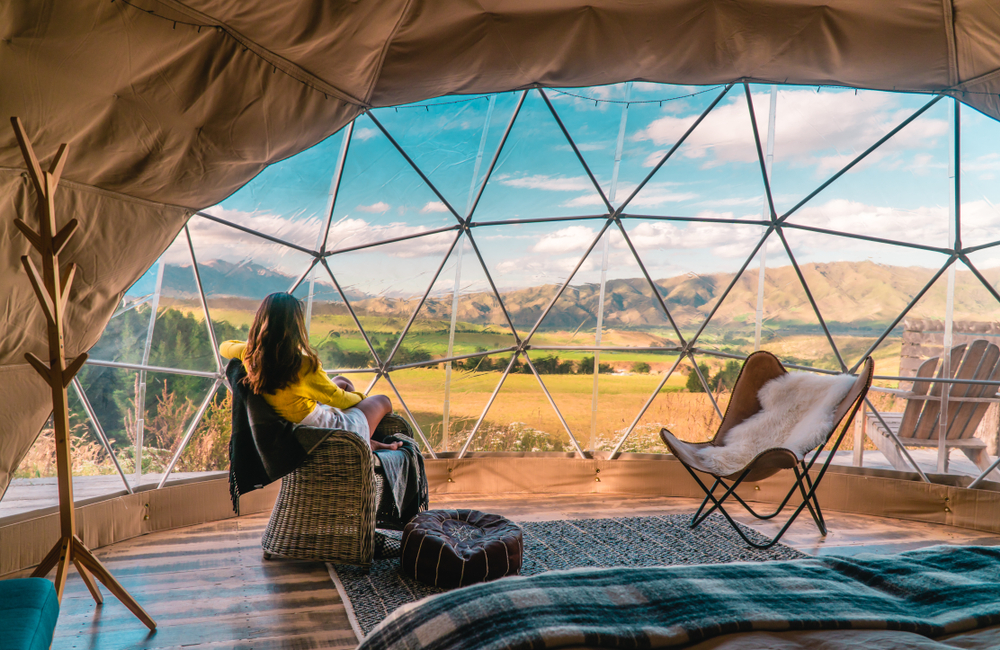 Glamping luxury