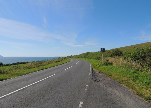 Electric Brae road