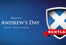 St Andrews Day Banner