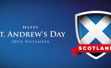 St Andrews Day Banner