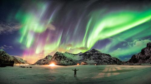 Norway frozen fans