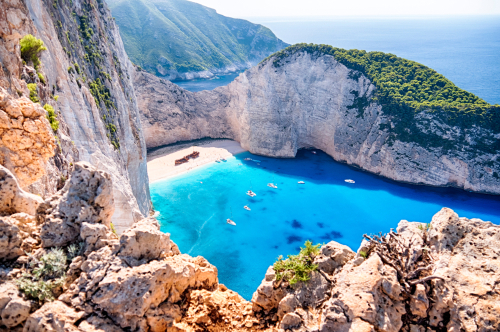 Most photographed beach in Greece