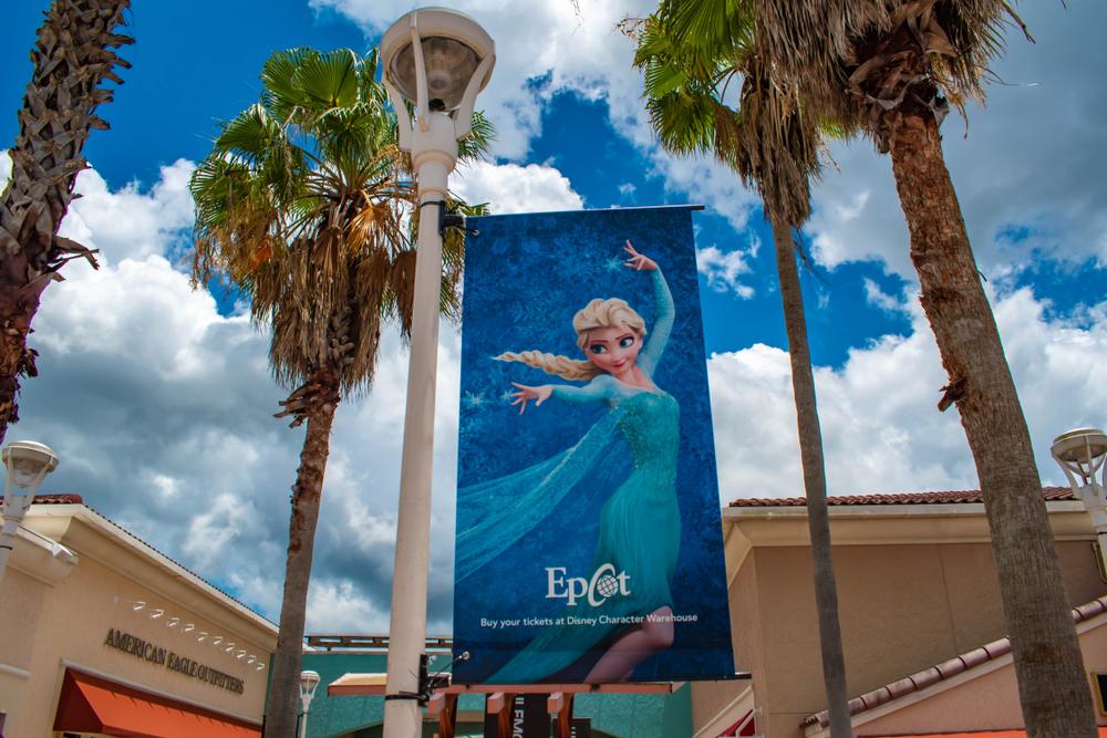 Frozen Epcot Florida