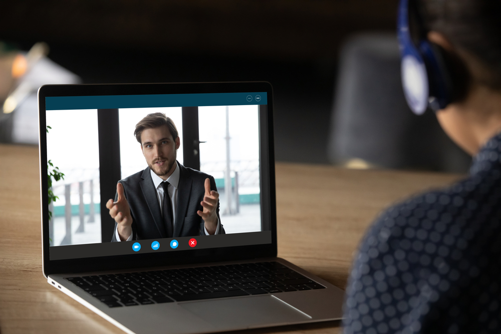 Virtual interview preparation