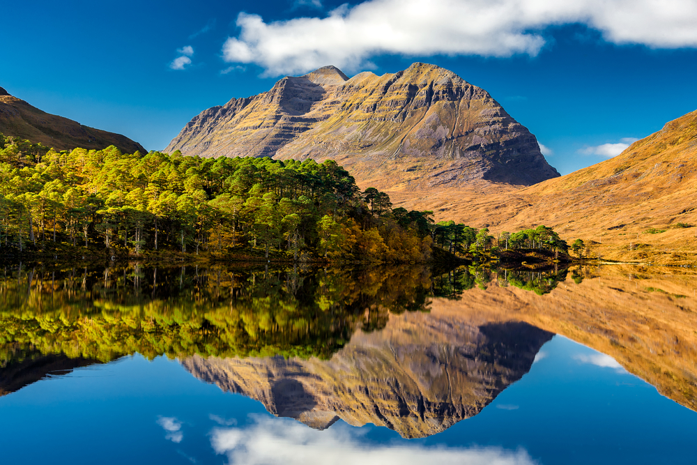 Liathach Mountain by Loch Torridon