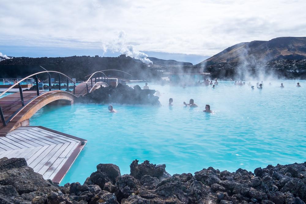 Hot pool Reykjavik