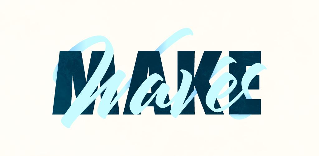 typographic overlap