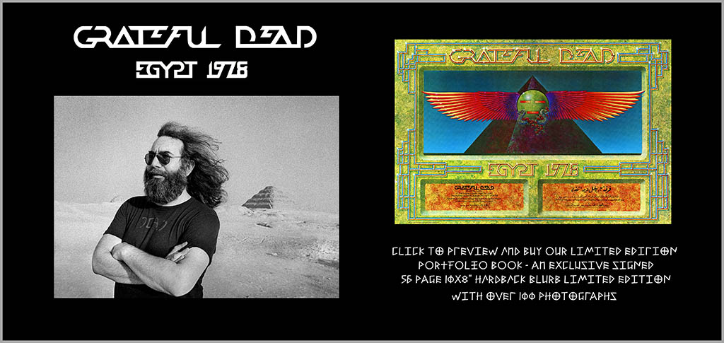 Jerry Garcia - The Grateful Dead – Egypt 1978