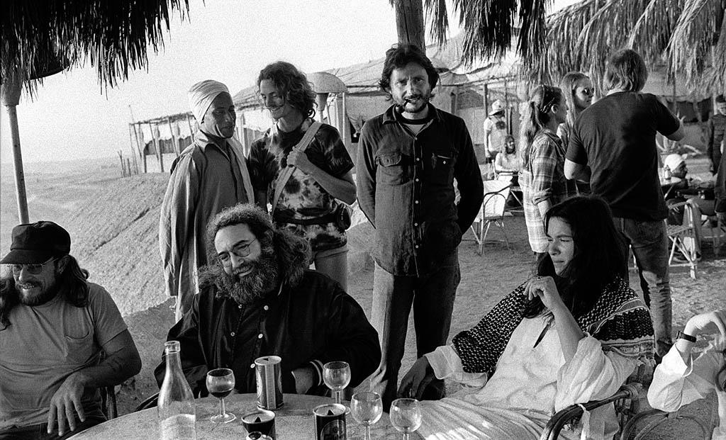 The Grateful Dead – backstage party - Egypt 1978