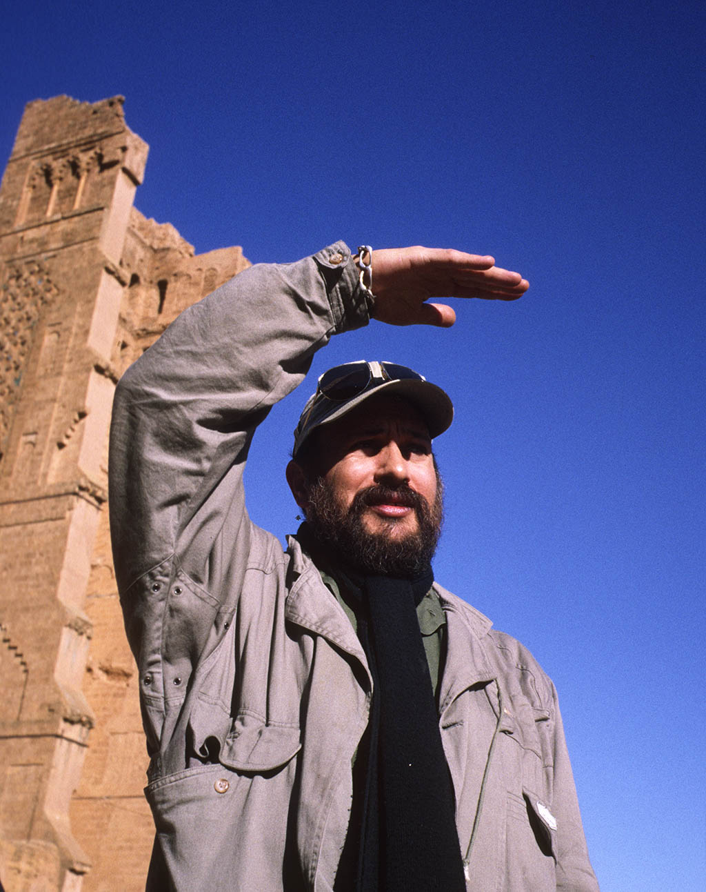 Rachid Baba at the Mansourah Tlemcen Algeria