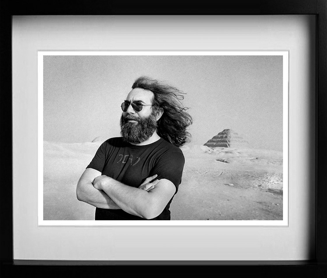 Jerry Garcia. A gallery of some of the years most popular prints