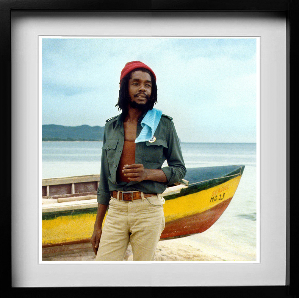 Peter Tosh at Hellshire Beach. A gallery of some of the years most popular prints
