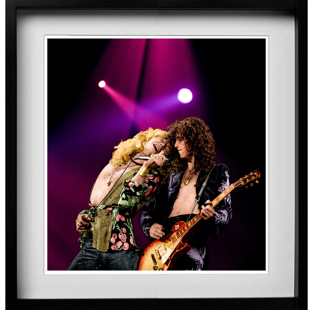 Led Zeppelin. A gallery of some of the years most popular prints