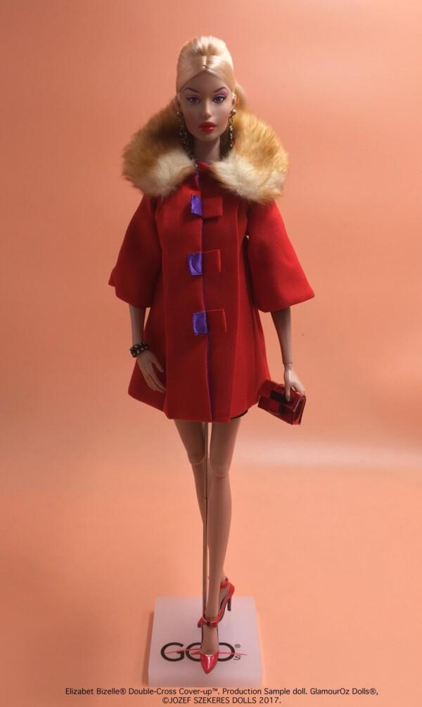 GlamourOz Dolls Elizabet Bizelle Double-Cross Cover-Up