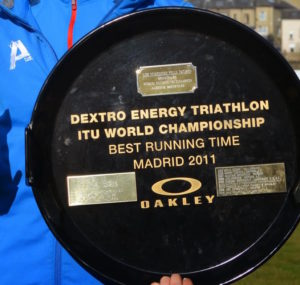Tom Saville - U23 Yorkshire Fell Running Championship Trophy