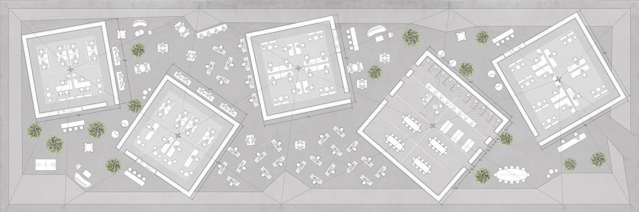Lidor Cohen - Rigid and flexible אזורי עבודה סטטיים ודינמיים בפרויקט עבור מקאן ואלי