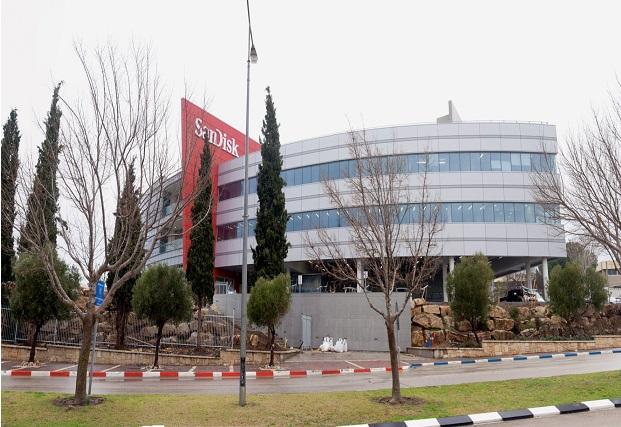 "בניין סאנדיסק בתפן, צילום: יח""צ"