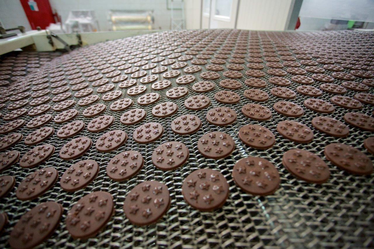 קו ייצור עוגיות מן