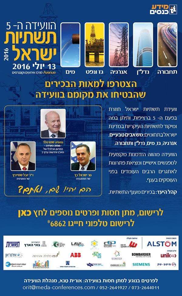 הועידה ה-5 לתשתיות