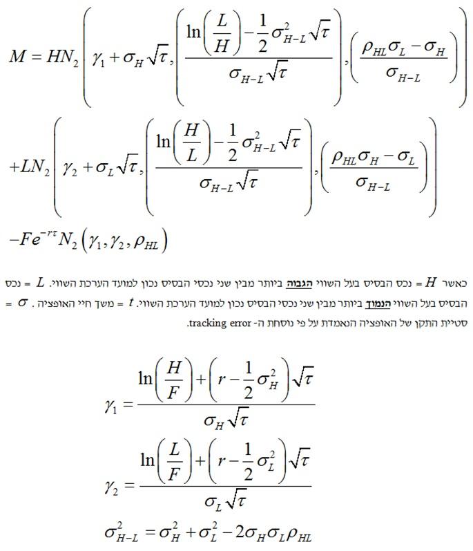 אופציות פיננסיות ופוזיציות נגזרים מורכבות 4