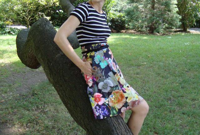 Floral Explosion Skirt