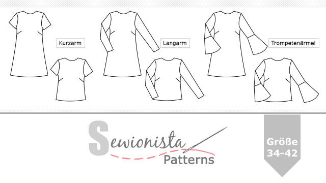 Sewionista Patterns Schnittmuster Grande Arche Bluse Kleid ... Sewionista Patterns Grande Arche Blouse Dress