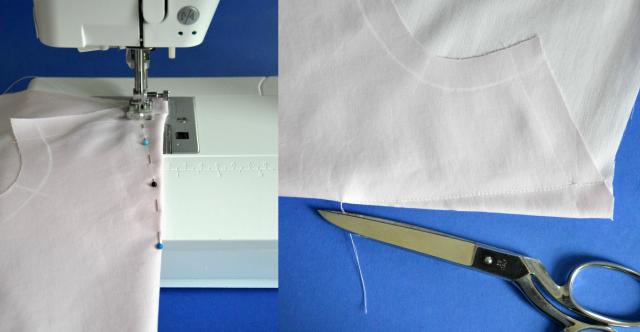 Nähanleitung Grande Arche Bluse/Kleid mit Trompetenärmel von Sewionista Patterns ... Sewionista.com ... Sewing ... Slow Fashion ... DIY ... Blog