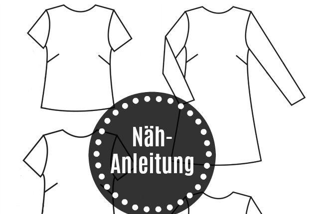 Nähanleitung – Grande Arche Bluse/Kleid Kurz- & Langarm
