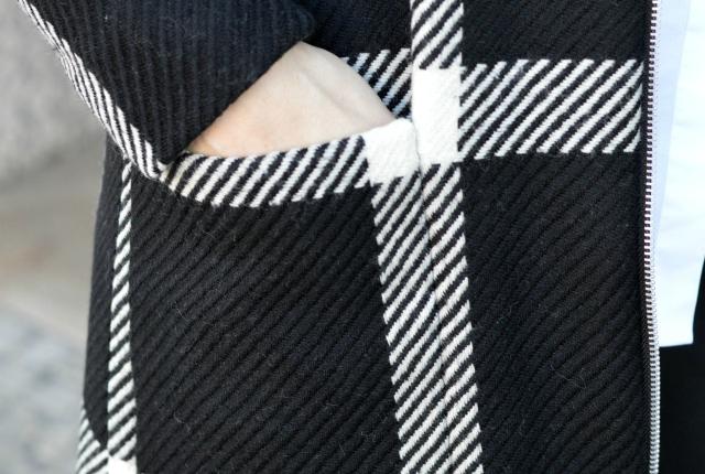 5 Tipps für das Nähen von Mustern – Grande Arche Karomantel
