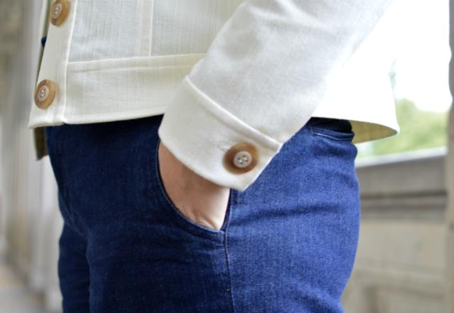 Zurück in die 70er – Burdastyle Jeansjacke