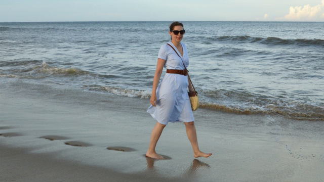 Sommer am Meer – Burdastyle Wickelkleid