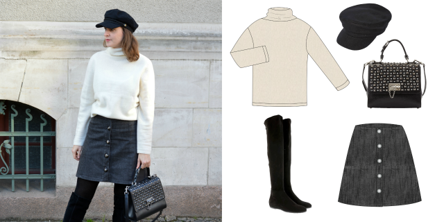 Capsule Wardrobe Winter 2019-2020 ... Sewionista.com ... Nähen ... Slow Fashion ... DIY
