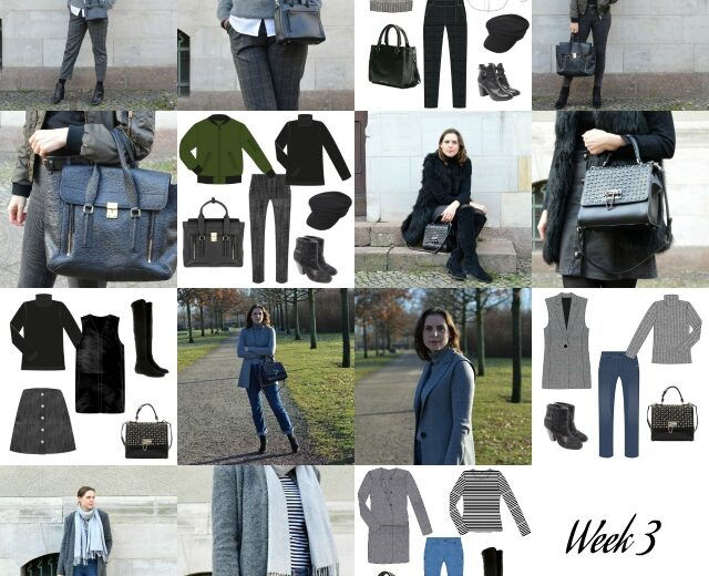 Capsule Wardrobe Winter 2019 – Week 3