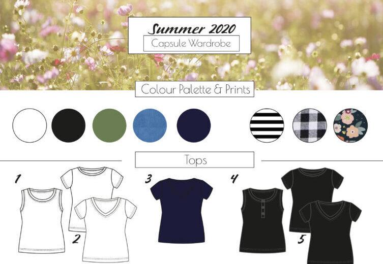 Capsule Wardrobe Sommer 2020