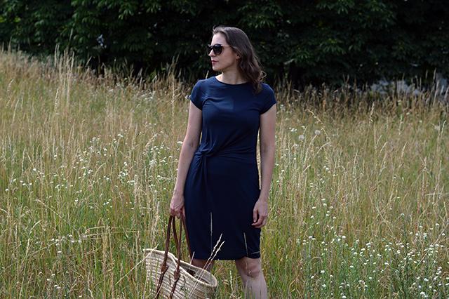 Sommerliches Knotenkleid – Pattydoo Amelie
