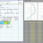 Anchored Sheet Pile Wall Design Spreadsheet 2
