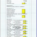Gabion Wall Design Spreadsheet 2