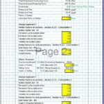 Gravity Retaining Wall Design Spreadsheet 2