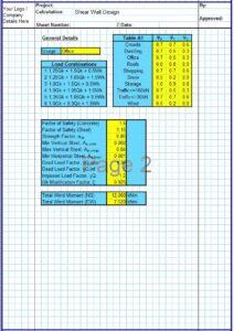 Concrete Shear Wall Design Spreadsheet2