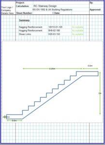 Concrete Stairs Design Spreadsheet4