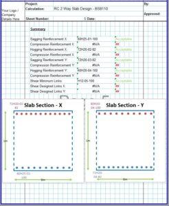 Two Way Slab Design Spreadsheet6
