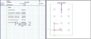 Anchor Bolt Design Excel Sheet