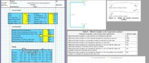 C Purlin Design Spreadsheet - 1