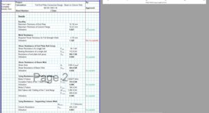 End Plate Connection Design Excel - Beam to Column Web Full 3