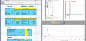 End Plate Connection Design Excel - Web Compression Stiffeners 1