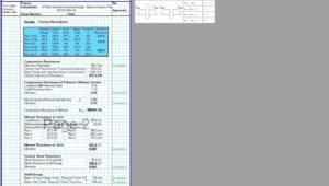 End Plate Connection Design Excel - Web Compression Stiffeners 3